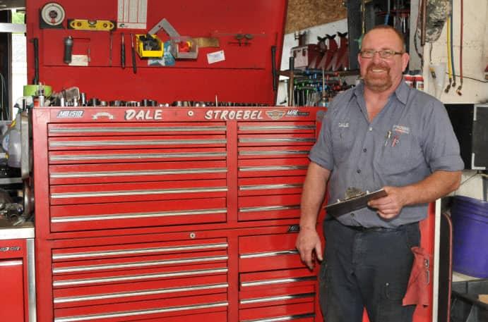 Dale Stroebel Best Mechanic Saginaw