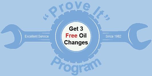 Prove it program Stroebel Automotive