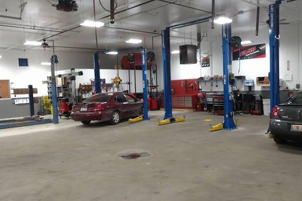 Stroebel Automotive repair shop